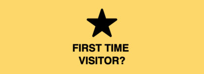 First time visitor icon